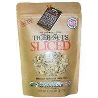 SLICED Premium Organic Tiger Nuts - IN STOCK with FREE Shipping on 6 bags or mor