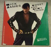 Rick James- Sweet And Sexy Thing (Vinyl 12 inch Single) 1986