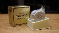 Rare Camus White barrel Napoleon 24k - minibottle, mininature, gold plated