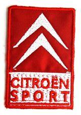 Toppa Patch Citroen Sport cm 5,4 x 8