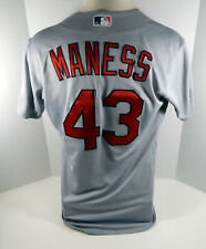 2016 St. Louis Cardinals Sean Maness #43 Game Issued Grey Jersey