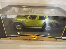 Maisto 1/18 - JEEP 4 door Rescue Concept