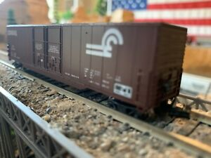 N Scale Concor Conrail 60' Box Car Double door METAL WHEELS well detailed NEW!