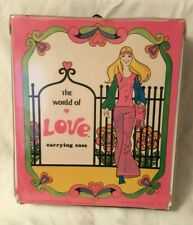 1971 Hasbro Doll The World of Love Carrying Case