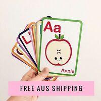Flashcards - Flash Cards - Learn ABC - Montessori - Alphabet Flash Cards -