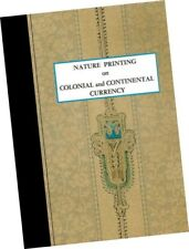 Eric NEWMAN Nature Printing Colonial Continental Currency 1964 Numismatics MONEY