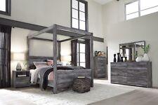 Ashley Furniture Baystorm Queen Canopy 6 Piece Bedroom Set B221