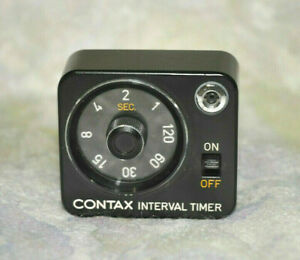 Contax RTS Camera  RARE Interval Timer  for Real Time Winder