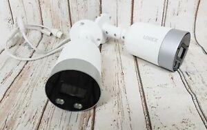 2X Lorex E891AB-Z 4K Ultra HD Smart Deterrence IP Camera w Color Night Vision