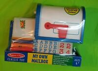 Melissa & Doug My Own Mailbox Wooden Kids Educational Learning Toy #4089