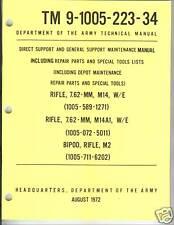 M14 and M14A1 Rifle, Maintenance Manual