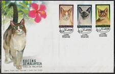 MALAYSIA 1999 Cats in M'sia FDC