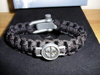 CALL OF DUTY GHOSTS PARACORD STRAP BRACELET HARDENED EDITION