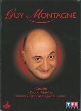 DVD COFFRET 3 DVD GUY MONTAGNE CARAMBA - COURS D'HISTOIRES - HISTOIRES QUE POUR