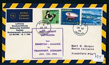 62012) LH FF Kingston Jamaica - Frankfurt 12.1.66 SoU Salvation Army Heilsarmee