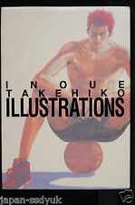 JAPAN Slam Dunk Art Book: Takehiko Inoue Illustrations