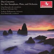 Duo Ctos for Alto Saxophone Flute & Orch, New Music