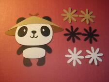 ADORABLE PANDA~~~~~~~CRICUT ~~~~DIE CUT/CUTS~~~~