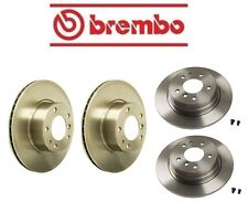 NEW BMW E34 525i 1989-1995 Rear And Front Brake Disc Rotors KIT Brembo