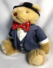 Vintage 1985 GORHAM British Lord Sterling Teddy Bear Stuffed Animal