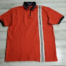 Polo Sport Ralph Lauren Men Polo Shirt Size Medium Orange