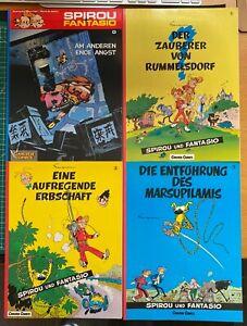 Spirou und Fantasio - 4 Carlsen Comics - Nr. 0,1,2,3 -  gebraucht