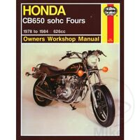 Honda CB 650 C Custom 1981 Haynes Service Repair Manual 0665