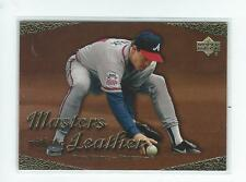 2003 Upper Deck Masters with the Leather #L3 Greg Maddux Braves