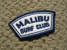 Vintage Malibu surf club surfing surfboard jacket patch 1960s longboard mint