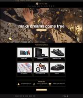 Professional Competition Business Website: Premium Dark Minimalist Video Design
