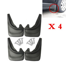 Soft Black 4Pcs Car Accessories Mud Flap Splash Guard Mudguards For SUV Truck