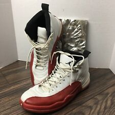 7d50ce17dd0b Men s Air Jordan 12 XII Retro Basketball Shoes Size 11 Cherry Red