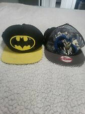 Boys 2 Batman Snapback Hats