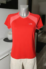 carino t-shirt rosso donna THE NORTH FACE Taglia M/M (38) ECCELLENTI CONDIZIONI