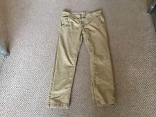 NEW LOOK TAN STRAIGHT FIT MENS CASUAL TROUSERS SIZE 32 WAIST 30 LEG Y