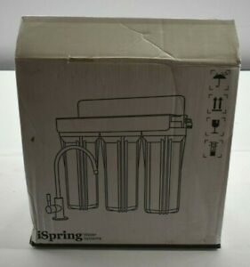 "iSpring US31 3-Stage 10"" Under Sink High Capacity Tankless Water Filtration"