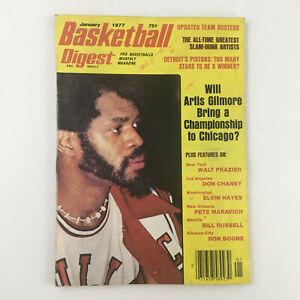 Basketball Digest Magazine January 1977 NBA Chicago Bulls Artis Gilmore No Label