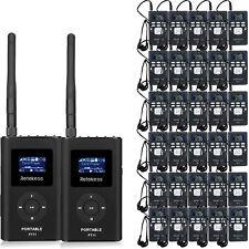 Wireless Simultaneous Interpretation Meeting System 2*FM Transmitter+30*FM Radio