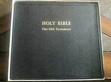 1953 Complete New Testament -Holy Bible Audio Book Co. 16 2/3 RPM Vinyl Records