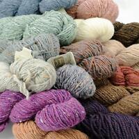 Rowan Vintage 100% Pure New Wool 100g Chunky Tweed & Fox Chunky Yarns - Rare 7