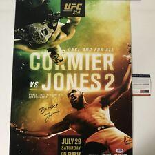 Autographed/Signed JON BONES JONES UFC MMA Fighting 16x20 Photo PSA/DNA COA #2