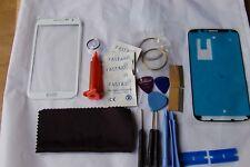 Samsung Note 2 Bianco Kit Di Riparazione Vetro Anteriore, loca colla