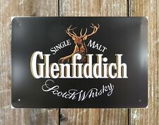 US SELLER-Glenfiddich Scotch Whiskey wall decor metal sign prints and artwork