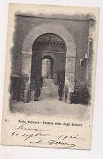 porta vaticana  palazzo detto degli svizzeri