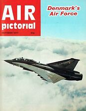 AIR PICTORIAL OCT 77: DANISH AIR FORCE/ AVIONS FAIREY/ TUPOLEV Tu95 BEAR PROFILE