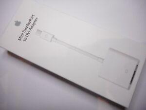 Genuine NEW Apple MB570Z/B Mini Display Port to DVI Adapter