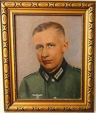 Anike óleo de 2.wk alemán Wehrmacht soldado de 1940 A.E. firmado