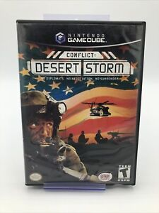 Conflict: Desert Storm Complete in Box CIB (Nintendo GameCube, 2003)