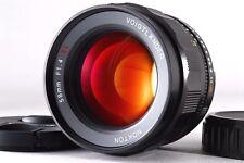 [NEAR MINT+++] Voigtlander Nokton 58mm f/1.4 SL II N NIKON Ai-s from Japan #381