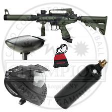 Tippmann Olive Cronus Tactical Paintball Gun - Complete Starter Marker Setup